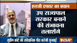 SC To Decide On Government Formation In Delhi Today - India TV
