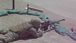 50 cal sniper rifle shot in iraq