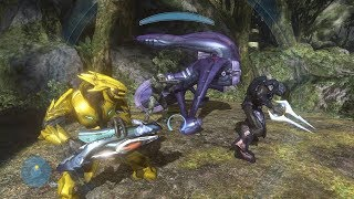 Halo 3 Mods - Forge in Campaign - Sierra 117 Gameplay