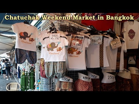 Chatuchak Market Bangkok 2017 | Shopping in Bangkok
