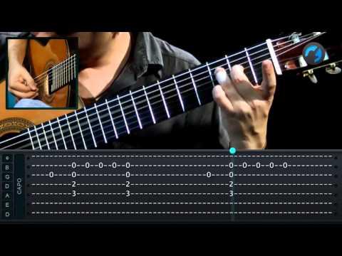 Tom Jobim - Eu Sei Que Vou Te Amar (aula de violão instrumental)