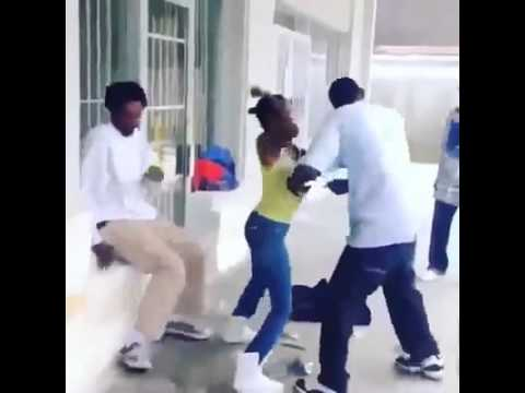 Woman Beats Up Her Man