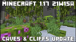 Minecraft 1.17 - Snapshot 21w15a - Waiting For The Snapshot To Release!