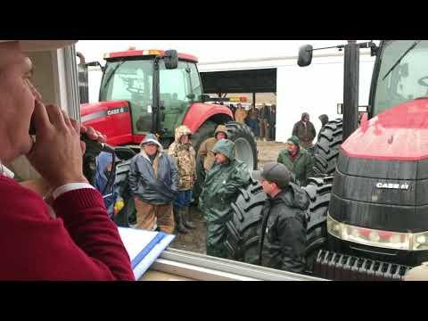 Richard Winter Farm Retirement Auction Yesterday In Burnt Prairie, IL