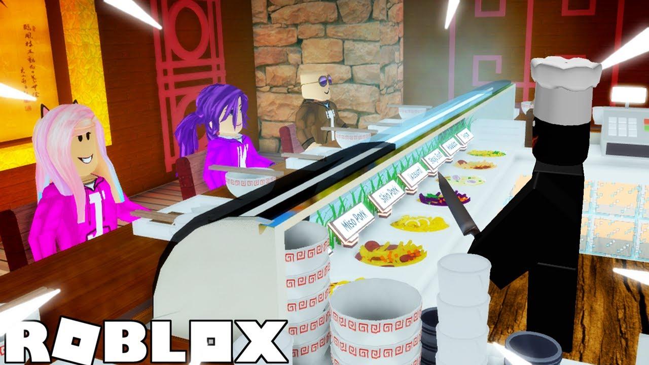 Sushi Buffet Story 🍣 / Roblox