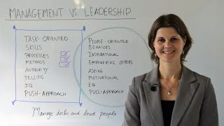 how to manage tasks and lead people leadership training