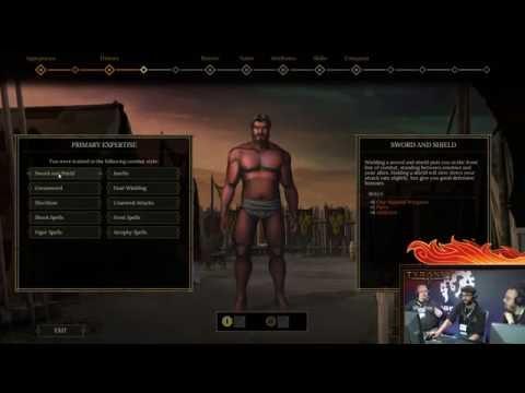 Tyranny - Character creation   Создание персонажа в Tyranny