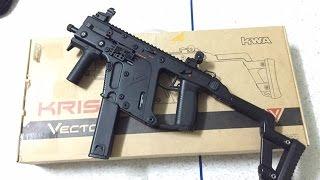 แกะกล่อง รีวิว ปืน KWA Kriss Vector (Airsoft gun) by JK