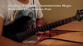 Childish Gambino - Summertime Magic, Reaction/Improv