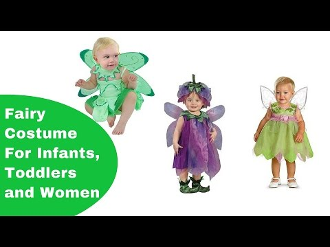 Fairy Costumes For Infants, Toddlers And Adults