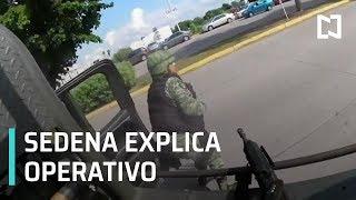 Relatoría de la SEDENA en Operativo de captura de Ovidio Guzmán - En Punto