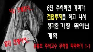 20일선 이탈 후 눌림 반등시 매매법(창원개미tv) 창…