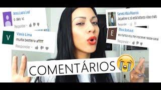 LENDO COMENTÁRIOS!!!!  - Pérolas da J@que
