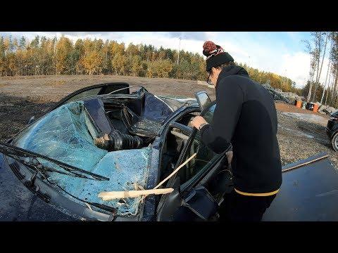 Скинули рояль на Volvo. Как это было