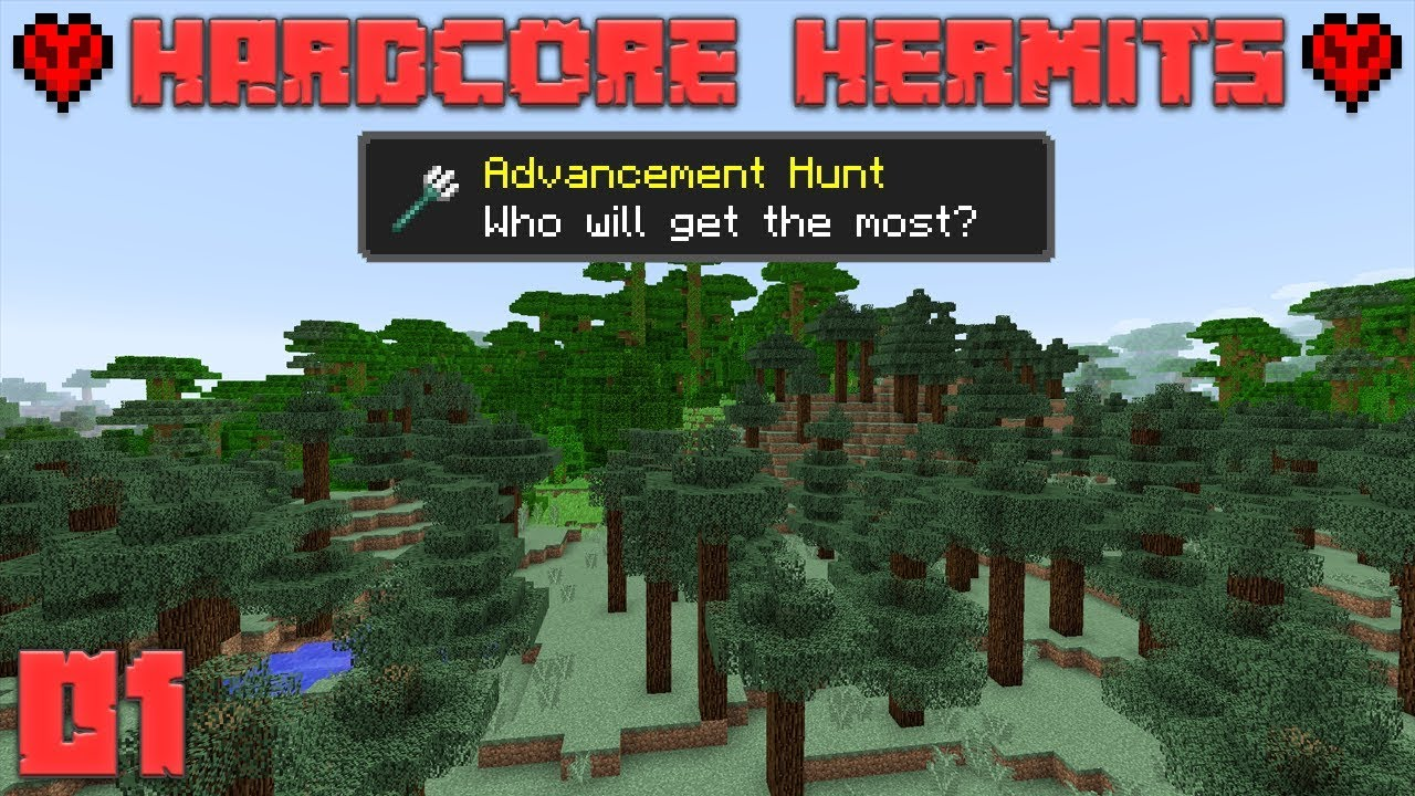 Minecraft Hardcore Hermits Season 1
