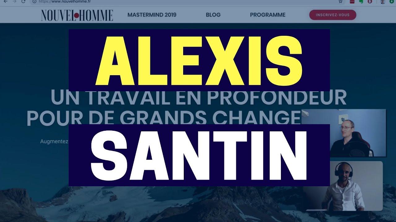 Pourquoi Alexis Santin utilise systeme.io pour ses 2 business en ligne