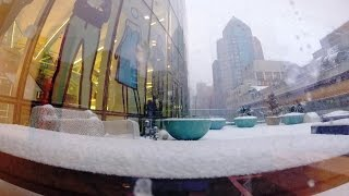 Blizzard Time Lapse: The Snow Storm That Wasn't