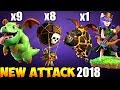 Baby Dragon + Lava: BABYLALOON NEW TH9 STRONG WAR ATTACK STRATEGY 2018   Clash of Clans