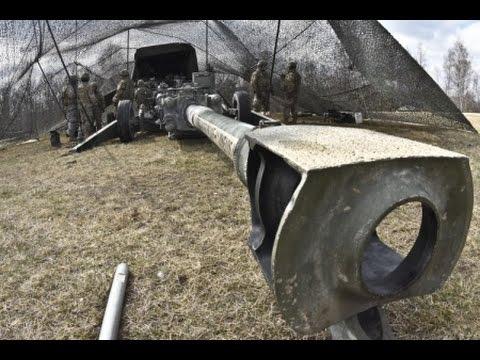 U.S and German 131st Artillery Battalion Live Fire Exercise - Grafenwoehr Training Area 2016