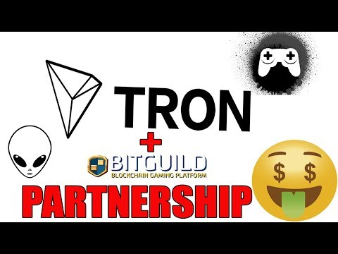 Tron TRX partner BitGuild backed by Justin Sun?