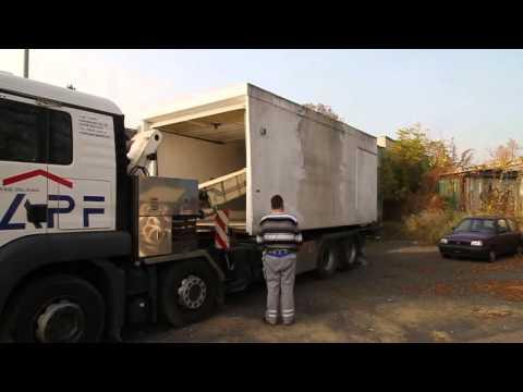 Gut bekannt Umsetzung einer Fertiggarage in Berlin-Wittenau - YouTube GT99