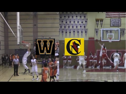 FULL GAME: Windsor vs Cardinal Newman, 1-13-2016