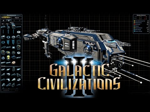 Galactic Civilizations III - Ship Designer Dev Stream