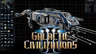 Galactic Civilizations III Ship Designer Dev Stream