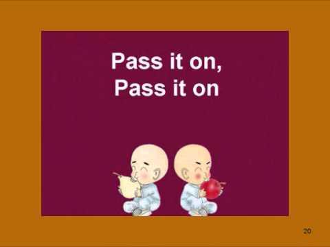 Pass It On (With Lyrics)