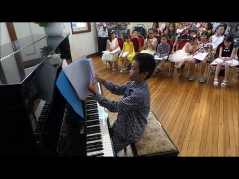 Starlight Music - Piano Recital 2016: Cool Banana & Thunder performed by Kiu