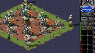C&C Red Alert 2 Megapack Challenge 1v7 - Battle Islands - Korea - Random