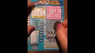 SLINGO LOTTERY CHALLENGE NY lottery ticket #2