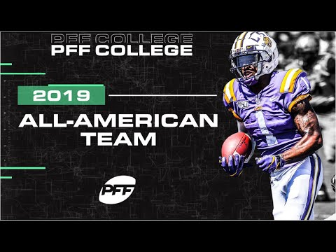 2019 CFB All-American Team   PFF