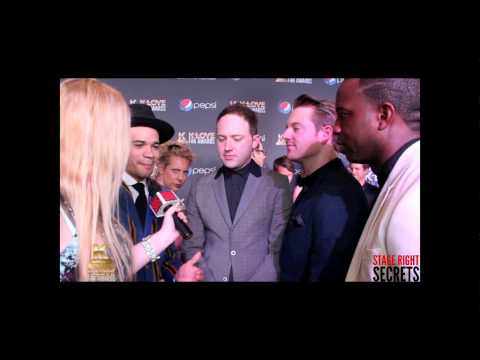 Royal Tailor  KLOVE Fan Awards Red Carpet Interview!