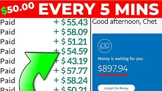 Make $50.00 Per 5 Minutes (Work From Home Job 2020)