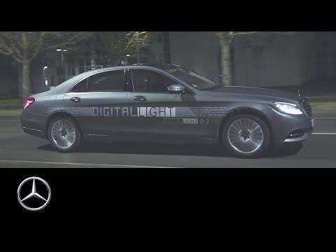 Mercedes-Benz DIGITAL LIGHT – A light for the future – Mercedes-Benz original