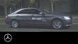 شاهد: مرسيدس-بنز تكشف عن تطور هائل بمصابيح السيارات