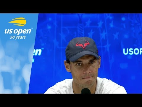 2018 US Open Press Conference: Rafael Nadal (English)