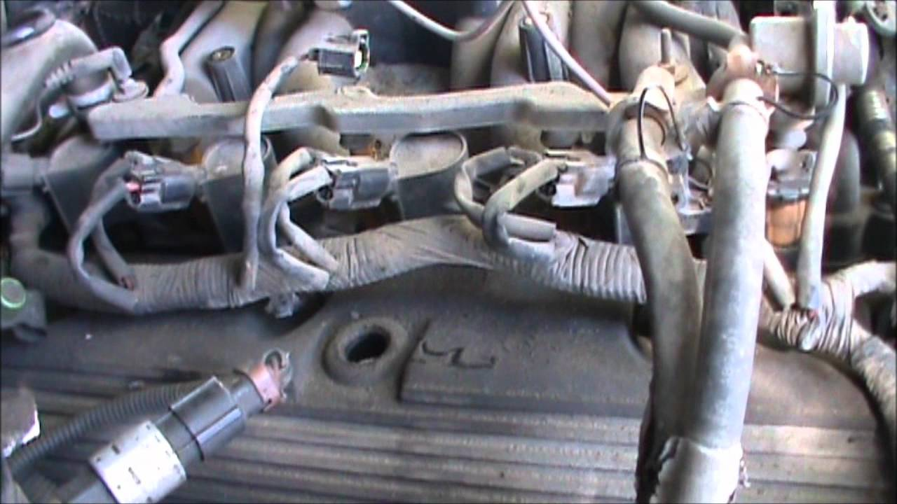 maxresdefault how to change an intake manifold on a 4 6l ford v8 youtube  at bakdesigns.co