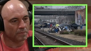 Joe Rogan | San Francisco Sent Their Homeless to Indianapolis