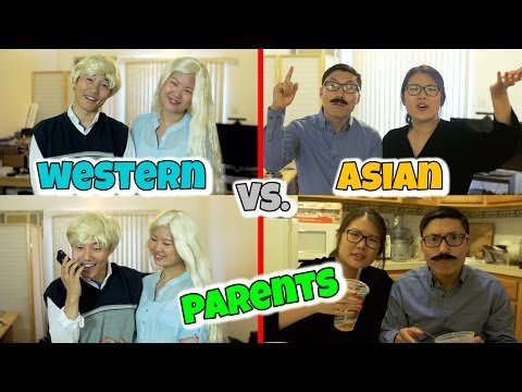 Asian Immigrant Parents vs Western Parents