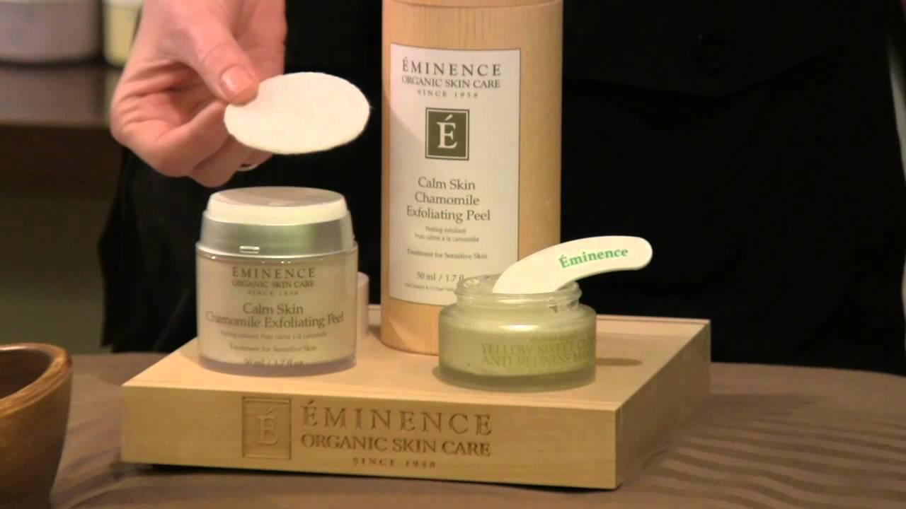 How To Exfoliate Sensitive Skin Naturally  Eminenceanic Skin Care   Youtube