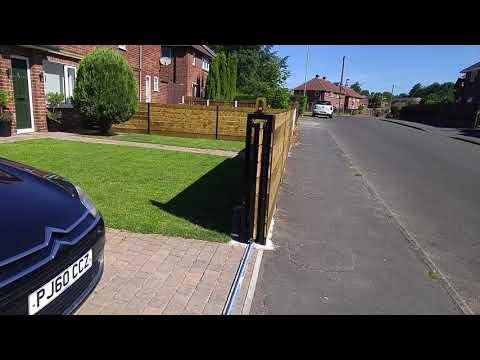 Sliding gate DIY