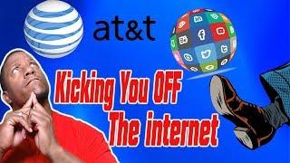 Att Copyright Alert Letter At&t turning off customers internet!!!!
