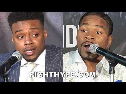 ERROL SPENCE & SHAWN PORTER TELL EACH OTHER HOW THEY WILL WIN; EXPLAIN THEIR PREPARATION