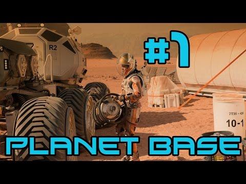Planet Base - A New Civilization! #1