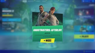 How To Do Tнe GHOSTBUSTER AFTERLIFE QUESTS For A FREE BACKBLING!