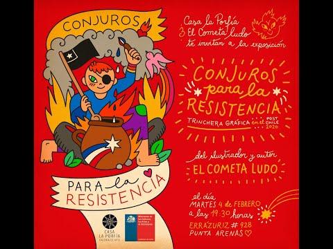 """Cometa Ludo Habla De Su Exposición """"Conjuros Para La Resistencia"""""""