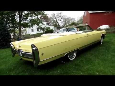 Cadillac Eldorado 2015 >> 1966 Cadillac Fleetwood Eldorado - For Sale - YouTube