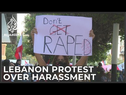 Lebanon protesters launch campaign against harassment